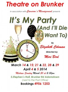 It's my Party Poster 3